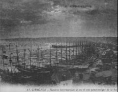 Cancale - port en 1903 - Cancale