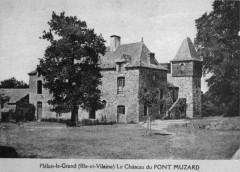 Carte postale de Pont-Muzard (façade ouest) 35 Cancale