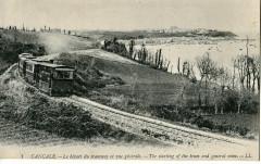 Ll 1 Cancale - Le départ du tramway et vue générale 35 Cancale