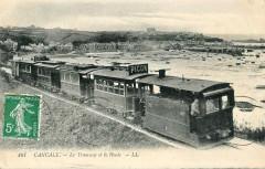 Ll 101 - Cancale - Le Tramway et la Houle 35 Cancale