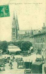 51-Châlons-sur-Marne-Notre-Dame et place du marché-Nd - Châlons-en-Champagne