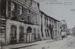 Bombardement 14-18 rue Pasteur Châlons - Châlons-en-Champagne
