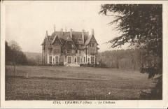 Château de Chambly ancienne carte postale 03 60 Chambly
