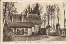 Château de Chambly ancienne carte postale 05 60 Chambly