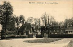 Château de Chambly ancienne carte postale 07 60 Chambly