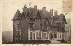 Château de Chambly ancienne carte postale 08 60 Chambly