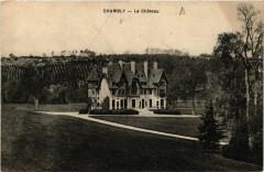 Château de Chambly ancienne carte postale 10 60 Chambly