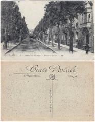 20 CHARLEVILLE. — Avenue de Mézières. — Mezieres Avenue — LL. (2) - Charleville-Mézières