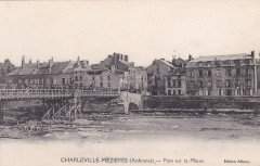 Charleville-Mézières (Ardennes) — Pont sur la Meuse - Charleville-Mézières