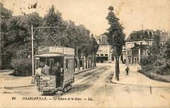 Ll 22 - Charleville - Le Square de la Gare - Charleville-Mézières