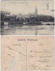Mézières –– Vue prise du Pont d'Arches 02 - Charleville-Mézières