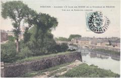 Mézières. – Ancienne demi Lune Des Dames de la Citadelle de Mézières — Vue sur le Faubourg d'Arches (1) - Charleville-Mézières