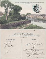 Mézières. – Ancienne demi Lune Des Dames de la Citadelle de Mézières — Vue sur le Faubourg d'Arches (2) - Charleville-Mézières