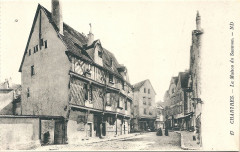 Chartres-Fr-28-carte postale-05 - Chartres