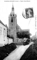 Cp Château-Renard église - Château-Renard