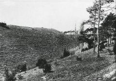 Camp d'Atilla carte postale le talus - La Cheppe