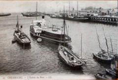 Cherbourg l'entrée du Port 9 Vii 1906 - Cherbourg-en-Cotentin