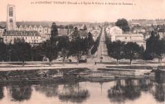 Postcard - 91 - Chateau-Thierry - avenue de Soissons - Château-Thierry