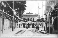 Commercy la gare pavoisée pour la venue du président - Commercy