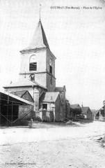 Cp Coupray Place de l'Eglise - Coupray