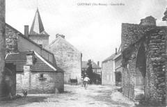 Cp Coupray Grande-Rue - Coupray
