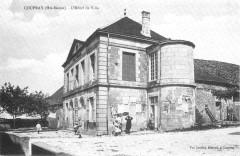 Cp Coupray L'Hôtel de Ville - Coupray
