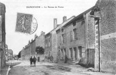 Cp Dancevoir Le Bureau de Postes - Dancevoir