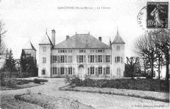 Cp Dancevoir Le Château - Dancevoir