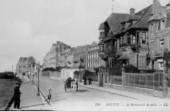 Dieppe boulevard Aguado vers 1905 - Dieppe