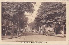 Dd 4 - Dijon - Avenue de la Gare - Dijon