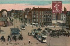 Ll 135 - Dunkerque - La Place de la Gare 59 Dunkerque