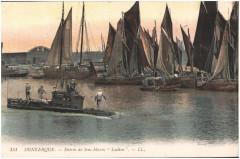 Postcard- Dunkerque - Entree du Sous-Marin