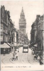 Postcard- Dunkerque - La Rue de l'Eglise, sent March 1915 (6264899846) 59 Dunkerque