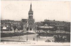 Postcard- Malo-les-Bains - La Place Turenne, sent May 1915  - Dunkerque