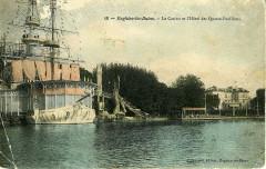 1900 N° 19 - Enghien-les-Bains. - Le Casino et l'Hôtel des Quatre-Pavillons. - Enghien-les-Bains