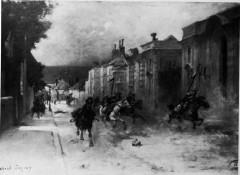 1870 les hulans chassés d'épernay 1008860 - Épernay