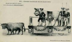 Le Boeuf Gras à Eu en 1908 - Eu