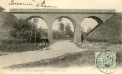 Ligne Eu-Dieppe - Le viaduc à Eu - Eu