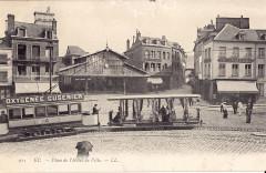 Ll 215 - Eu - Place de l'Hotel de Ville - Eu