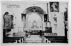 Fresne les reims intérieur église 75296 - Plédéliac