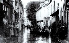 Crue-Loire-1907-Gien 45 Gien