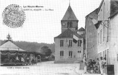 Cp Giey-sur-Aujon La Place - Giey-sur-Aujon