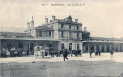 Baffert 117 bis - Grenoble - La Gare P. L. M. - Grenoble