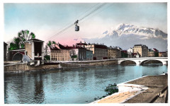 Carte postale grenoble 12 38 Grenoble