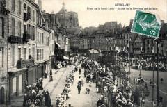 Fête de la Saint-Loup - Entrée de la dérobée des enfants - Guingamp