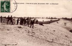 1907 10 20 Cp Jargeau déversoir crue - Jargeau
