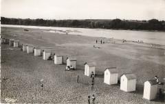 La plage Jargeau Loiret - Jargeau