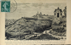Abbaye st vincent laon 09856 - Laon