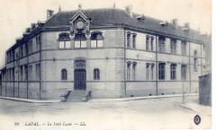Bâtiment de l'internat du Lycée Douanier Rousseau - Laval