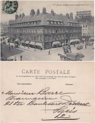 4 — Lille – La Bourse (vue d'ensemble) - E.C (2) - Lille